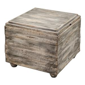 Uttermost Accent Furniture Avner Wooden Cube Table