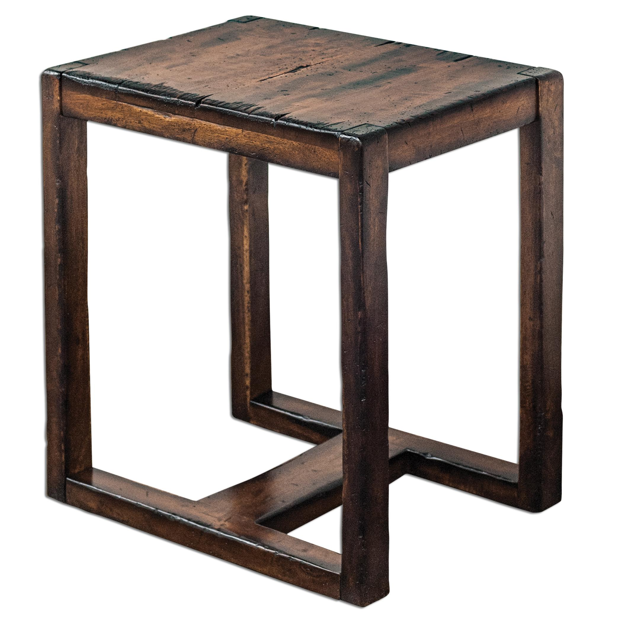 Uttermost Accent Furniture Deni Wooden End Table - Item Number: 25604