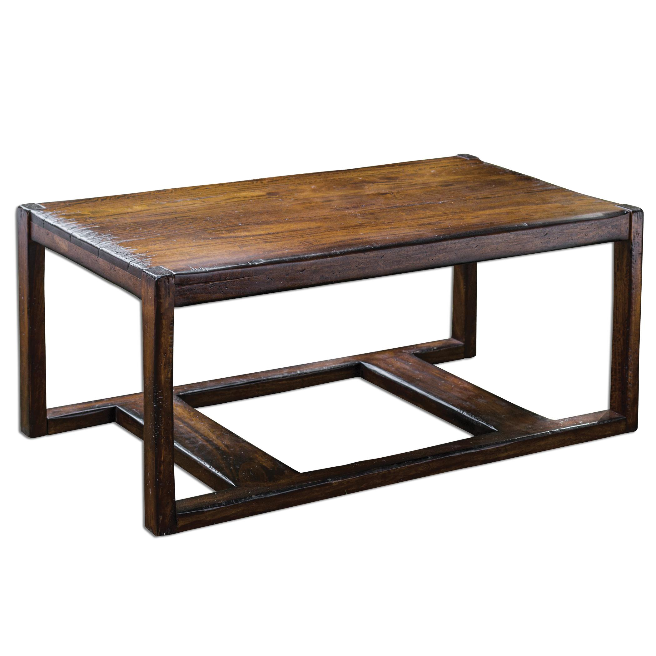 Uttermost Accent Furniture Deni Wooden Coffee Table - Item Number: 25605