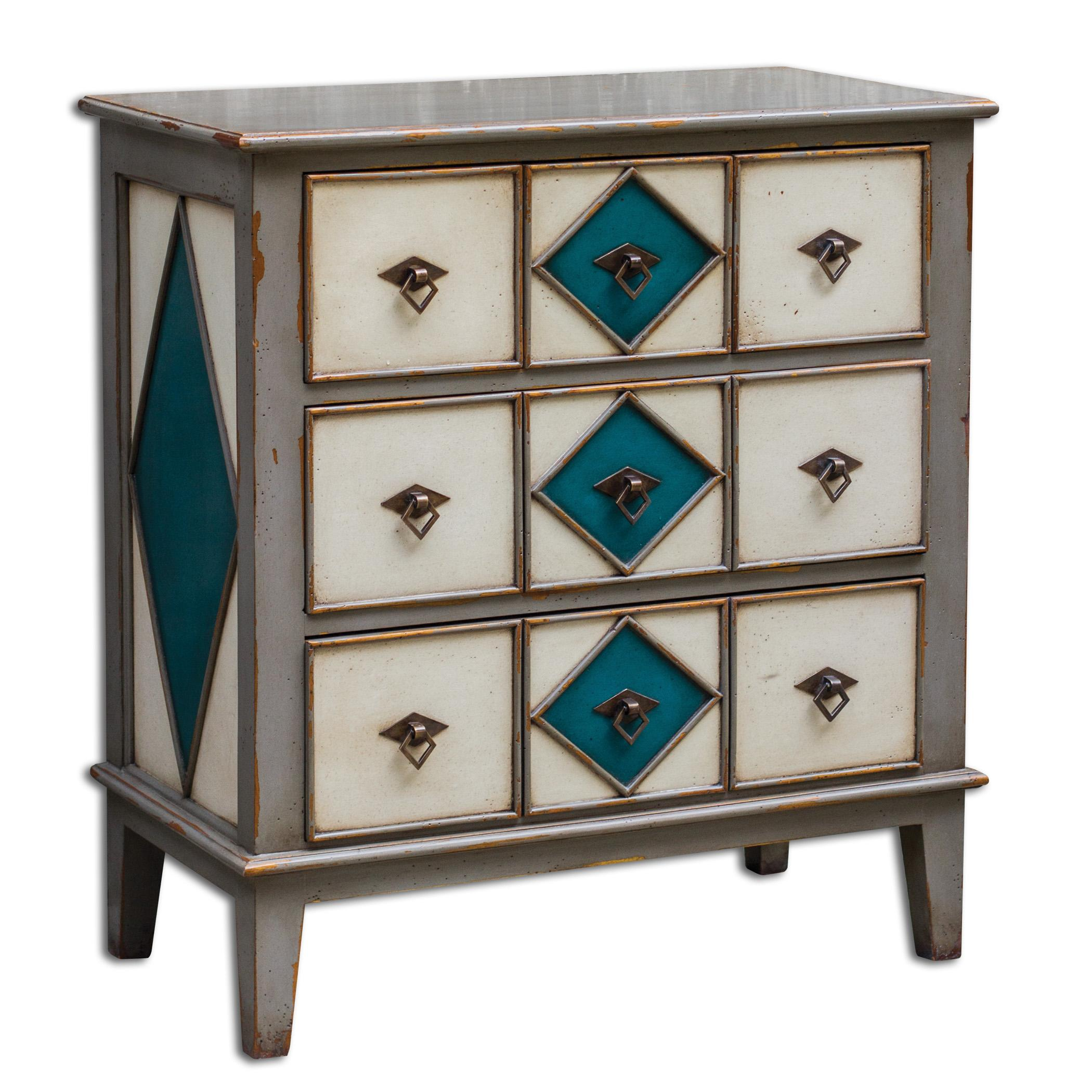 Uttermost Accent Furniture Kinzley Accent Chest - Item Number: 25620