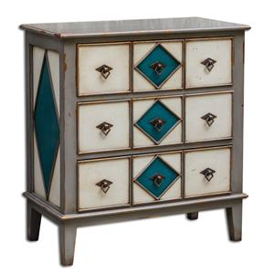 Uttermost Accent Furniture Kinzley Accent Chest