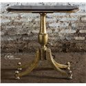 Uttermost Accent Furniture Mana Pedestal Accent Table