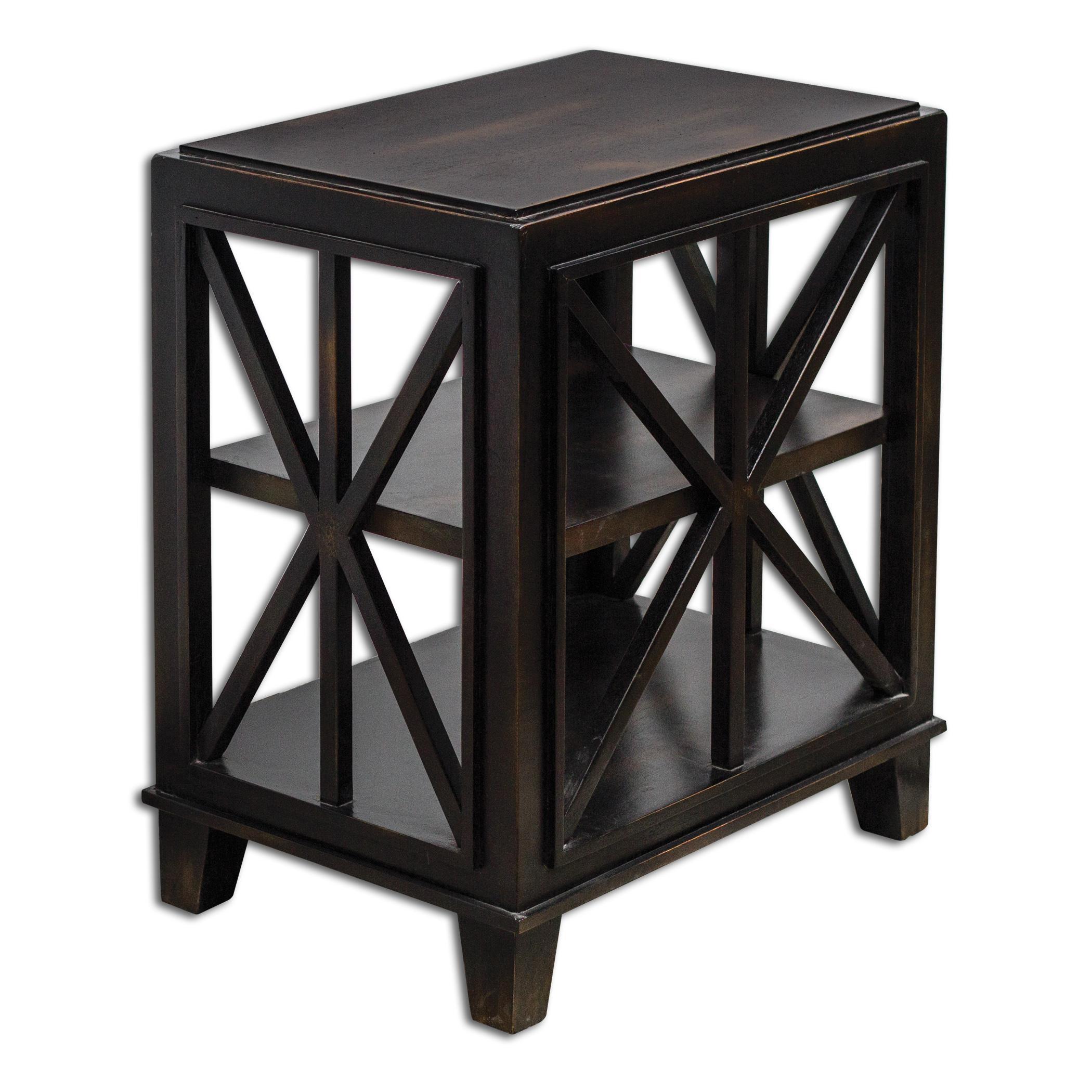 Uttermost Accent Furniture Asadel End Table - Item Number: 25633