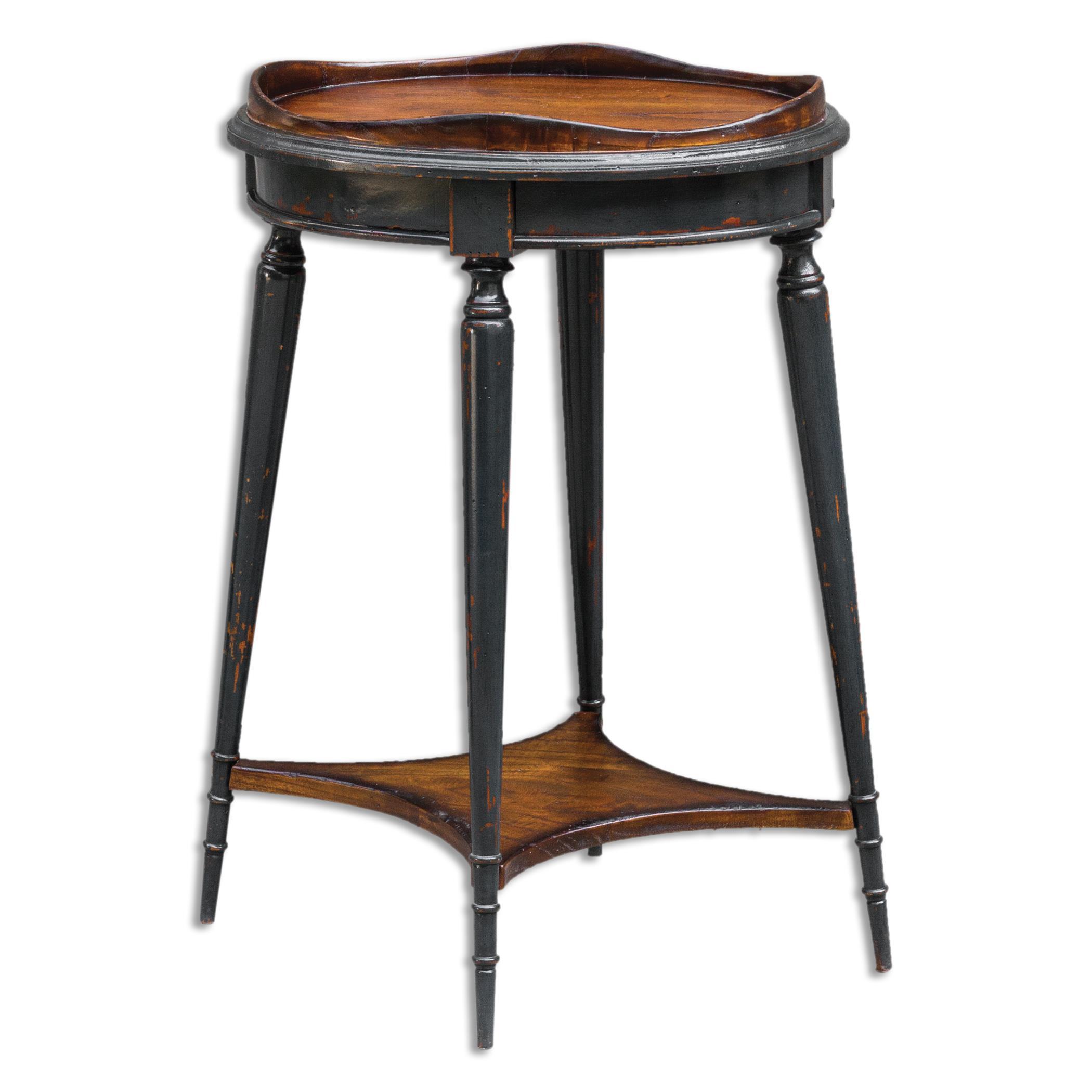 Uttermost Accent Furniture Agacio Round Accent Table - Item Number: 25647