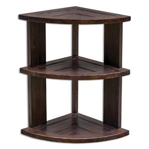 Uttermost Accent Furniture Claro Hickory Accent Table