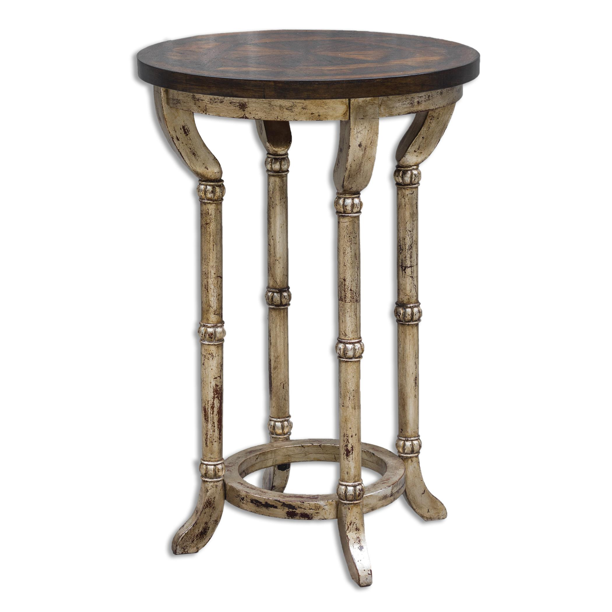 Uttermost Accent Furniture Malo Round Accent Table - Item Number: 25658