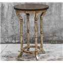 Uttermost Accent Furniture Malo Round Accent Table