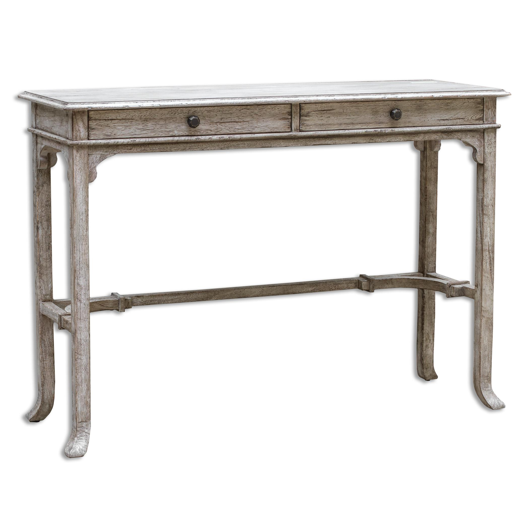 Uttermost Accent Furniture Bridgely Wooden Console Table - Item Number: 25659