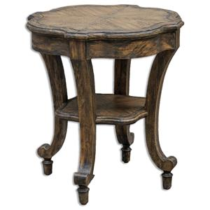 Uttermost Accent Furniture Matahari Aged Accent Table