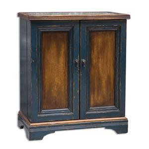 Uttermost Accent Furniture Agacio Wooden Bar Cabinet