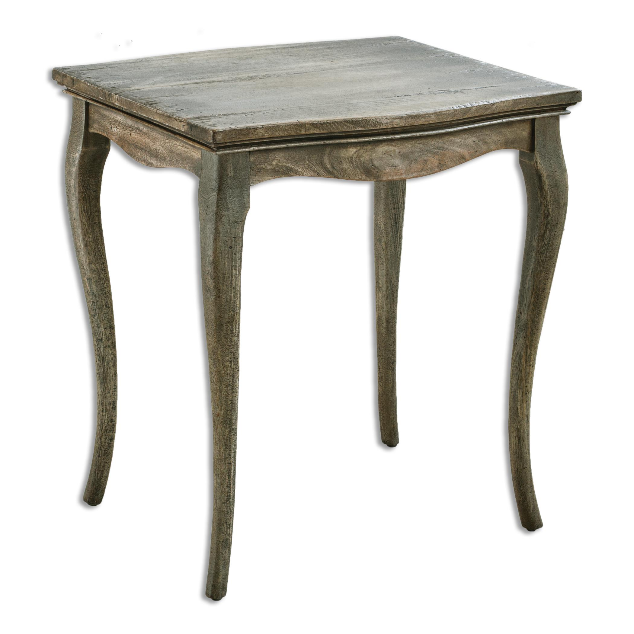 Uttermost Accent Furniture Gabri Driftwood Side Table - Item Number: 25667