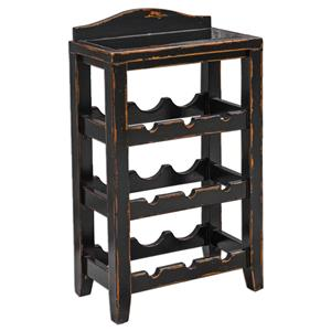 Uttermost Accent Furniture Halton Wine Rack Table