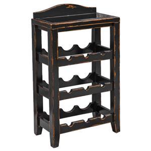 Uttermost Accent Furniture Halton Wine Rack Table