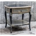 Uttermost Accent Furniture Andrin Distressed Side Table