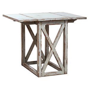 Uttermost Accent Furniture Khari Drop Leaf Table