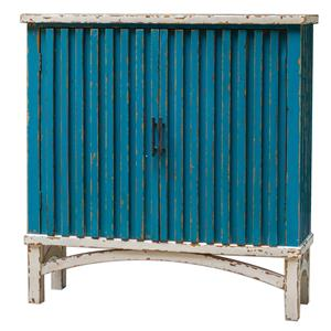Uttermost Accent Furniture Juhani Blue Accent Chest