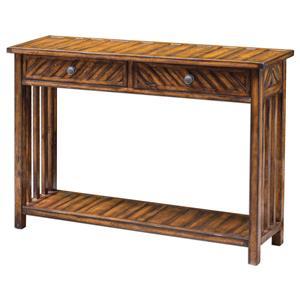 Uttermost Accent Furniture Bartek Wood Console Table