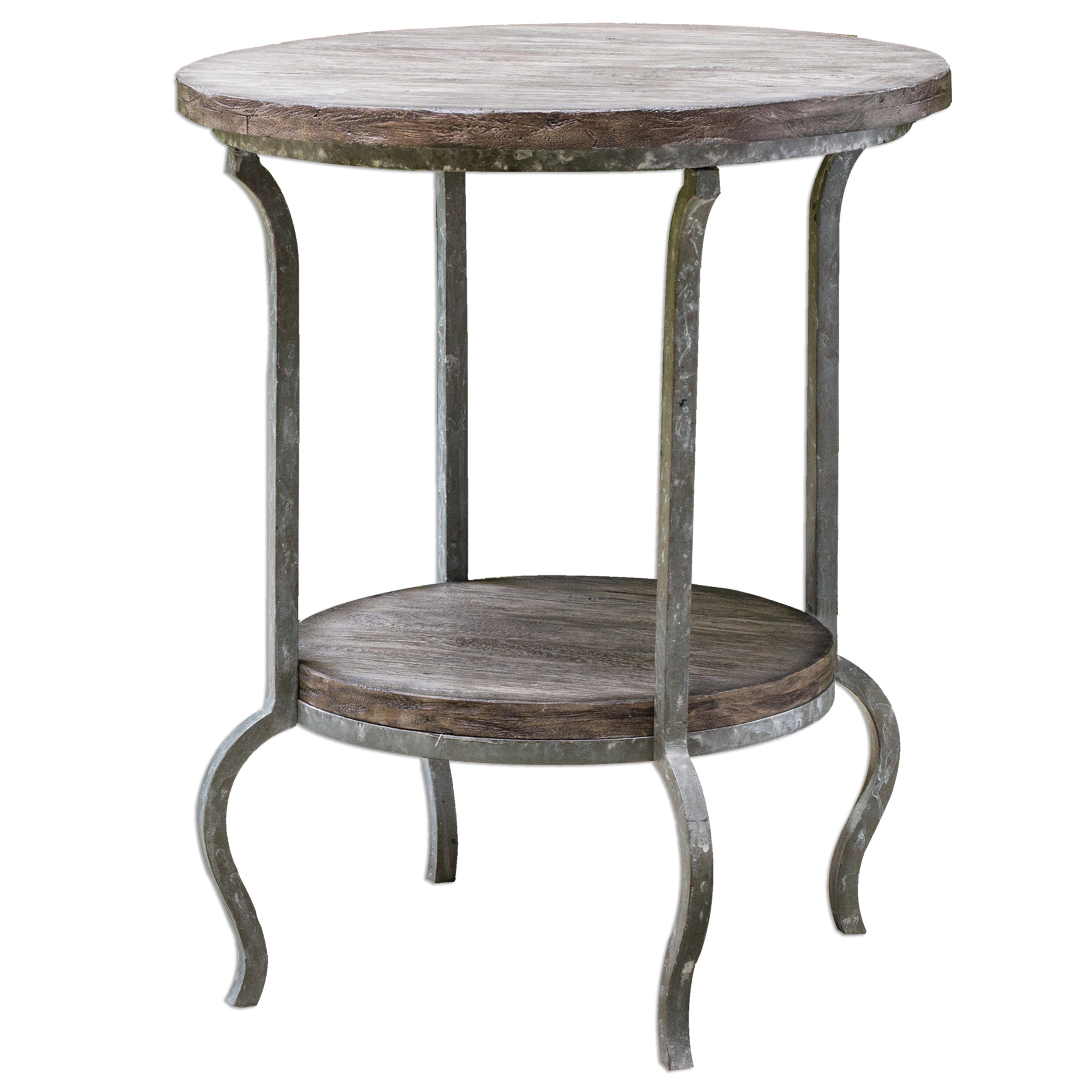 Uttermost Accent Furniture Marcin Round Accent Table - Item Number: 25697