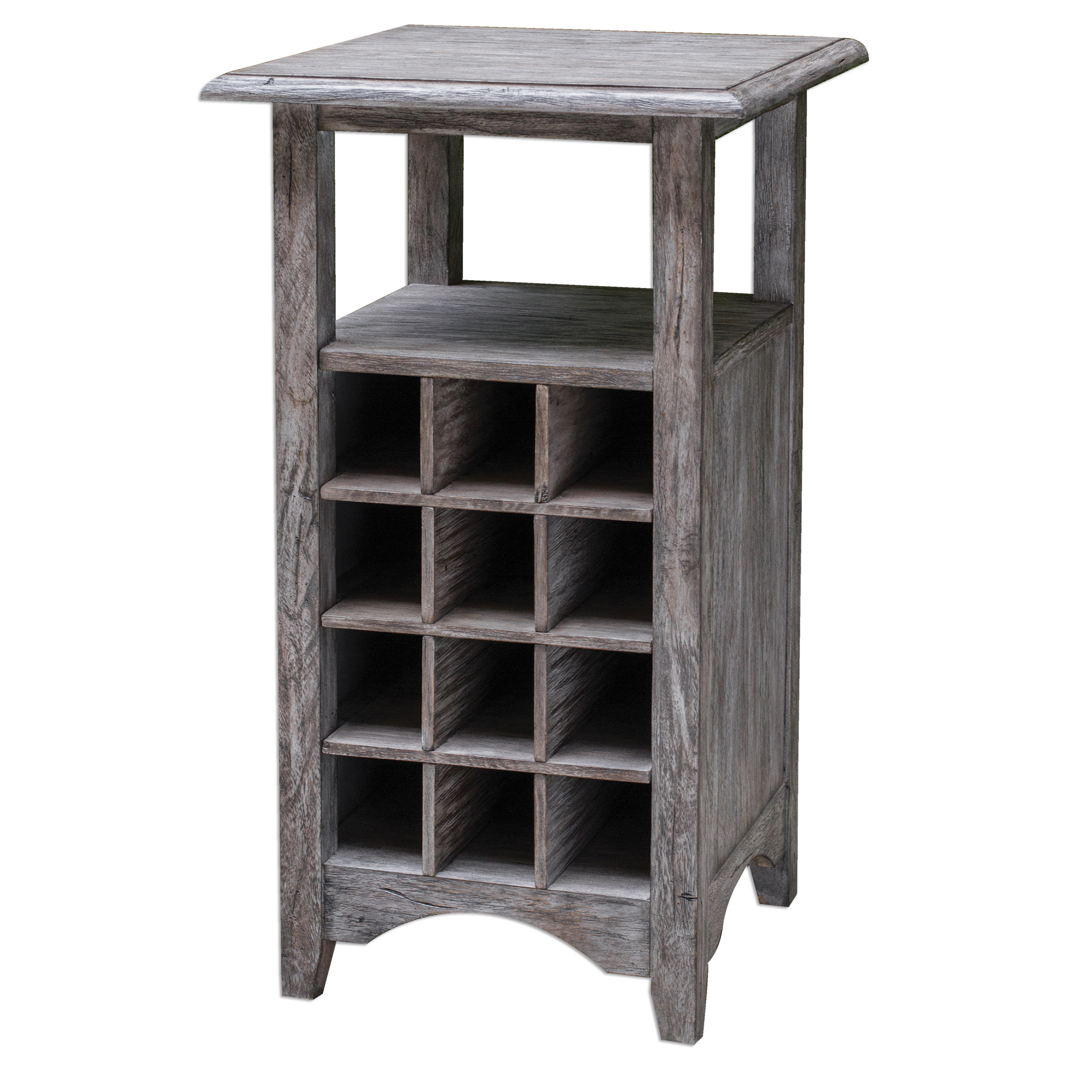 Uttermost Accent Furniture Tereza Wine Storage Table - Item Number: 25698