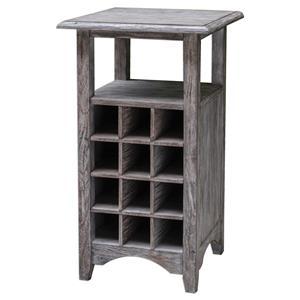 Uttermost Accent Furniture Tereza Wine Storage Table