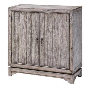 Uttermost Accent Furniture Ladann Wood Console Cabinet