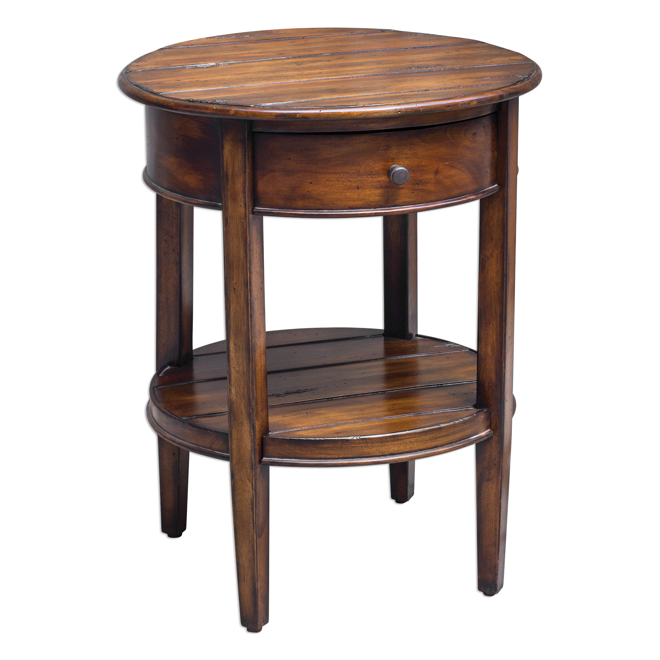 Uttermost Accent Furniture Ranalt Round Accent Table - Item Number: 25710