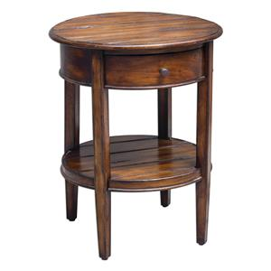 Uttermost Accent Furniture Ranalt Round Accent Table