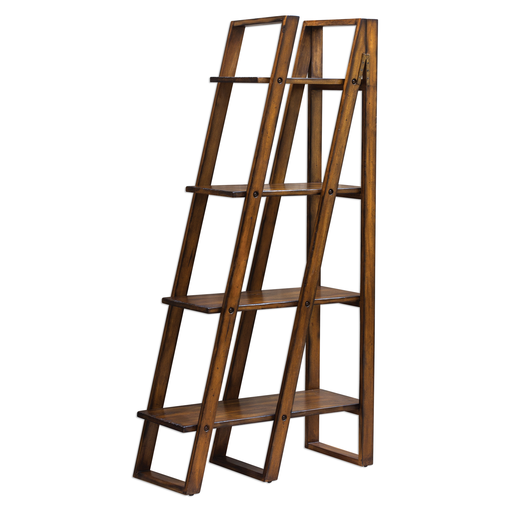 Uttermost Accent Furniture Cacey Wood Etagere - Item Number: 25711