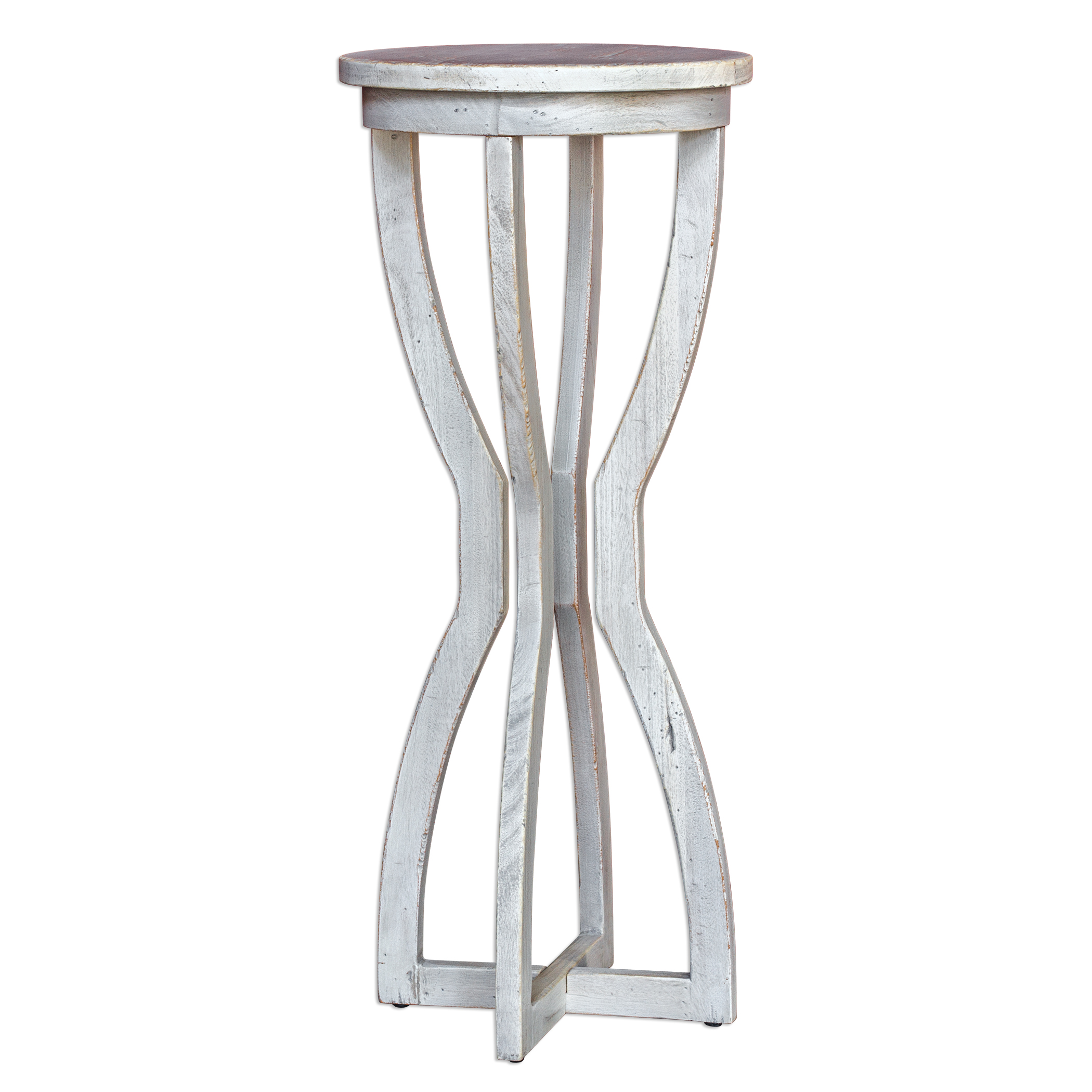 Uttermost Accent Furniture Noreena Wood Plant Stand - Item Number: 25714