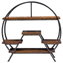 Uttermost Accent Furniture Ayoka Forged Iron Etagere - Item Number: 25723