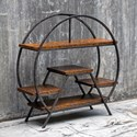 Uttermost Accent Furniture Ayoka Forged Iron Etagere