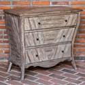Uttermost Accent Furniture Gimbya Wooden Three Drawer Chest