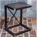 Uttermost Accent Furniture Kendi Dusty Black Side Table