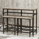 Uttermost Accent Furniture Tameron Bistro Set S/3