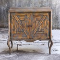 Uttermost Accent Furniture Holbrook Two Door Accent Chest