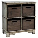 Uttermost Accent Furniture  Ardusin Gray Hobby Cupboard - Item Number: 25745