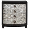 Uttermost Accent Furniture Ramila Hand Carved Accent Chest - Item Number: 25763