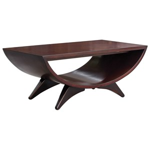 Uttermost Accent Furniture Ivo Mid-Century Coffee Table