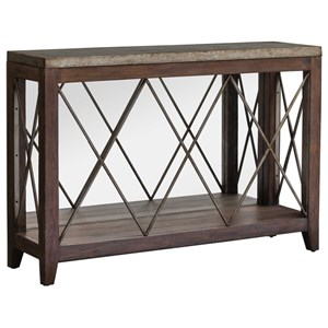 Delancey Iron Console Table