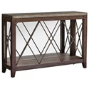 Uttermost Accent Furniture - Occasional Tables Delancey Iron Console Table - Item Number: 25765