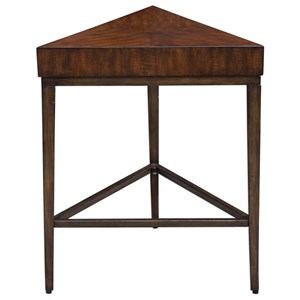 Uttermost Accent Furniture Ingo Triangle Accent Table