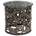 Uttermost Accent Furniture - Occasional Tables Zama Industrial Accent Table - Item Number: 25770