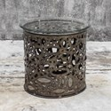 Uttermost Accent Furniture Zama Industrial Accent Table