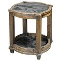 Uttermost Accent Furniture Olani Weather Oak Accent Table - Item Number: 25776