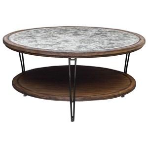 Uttermost Accent Furniture Saskia Rustic Coffee Table