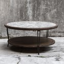 Uttermost Accent Furniture Saskia Rustic Coffee Table