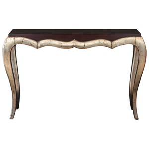 Verena Champagne Console Table