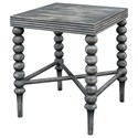 Uttermost Accent Furniture - Occasional Tables Kunja Gray End Table - Item Number: 25797