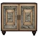 Uttermost Accent Furniture Caroline Antique Mirror Accent Cabinet - Item Number: 25803