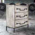 Uttermost Accent Furniture Jory Aged Ivory Accent Chest